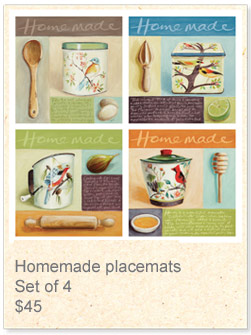 Placemats: Homemade
